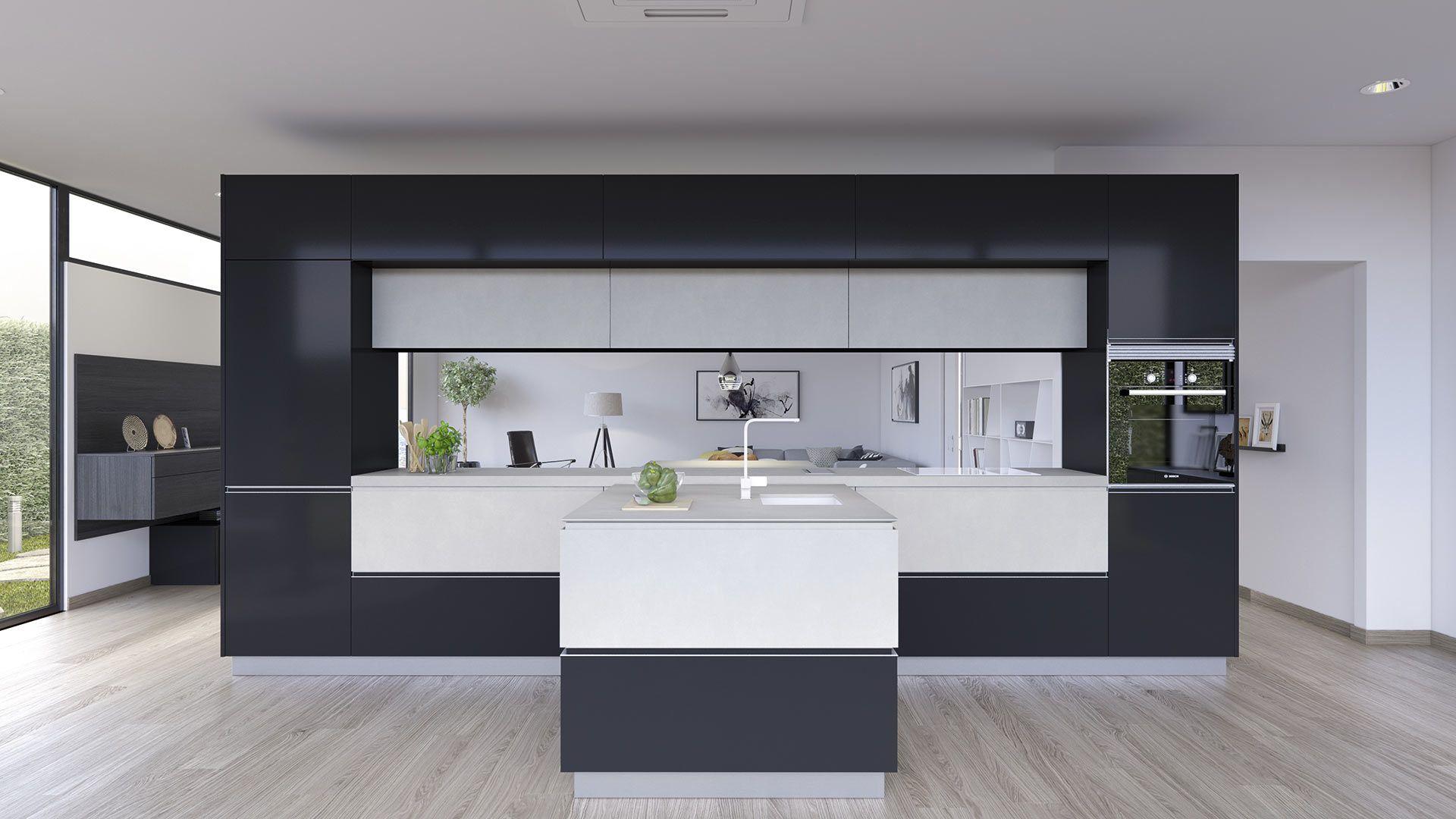cocinas elegantes, muebles de diseño para la cocina ...