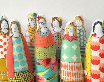 Riservati per Dr. Adrienne - personale medico Custom ritratto - Soft sculpture dolls - Timo fatto a mano