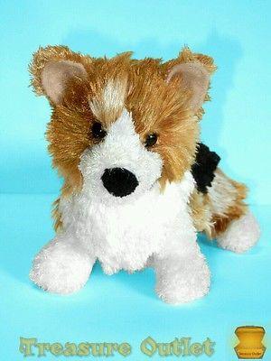 Douglas-Cuddle-Toy-Stuffed-Plush-Tri-color-Welsh-Corgi-Puppy-Dog-9in-Rare