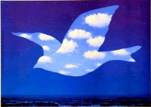les oiseaux dans la peinture -René Magritte