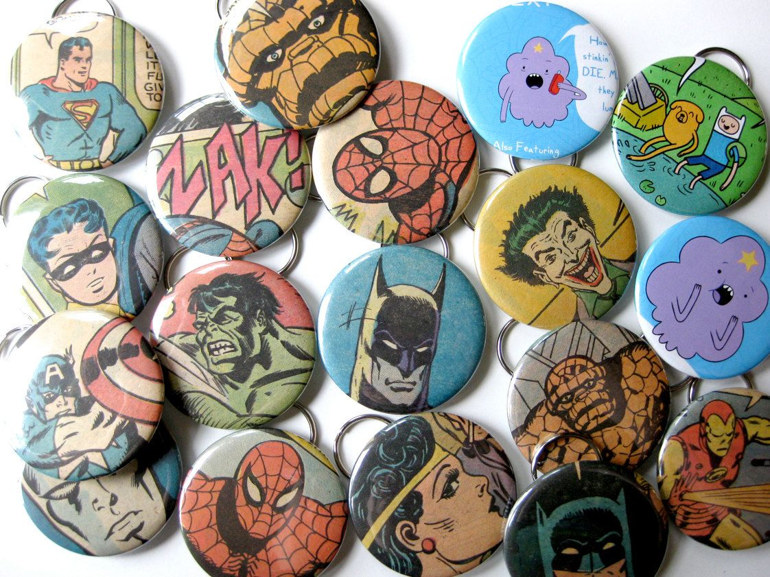 Wedding Favor Party Pack Bottle Opener Key Chain Recycled Comic Book Set Of 20 50 00 Via Etsy