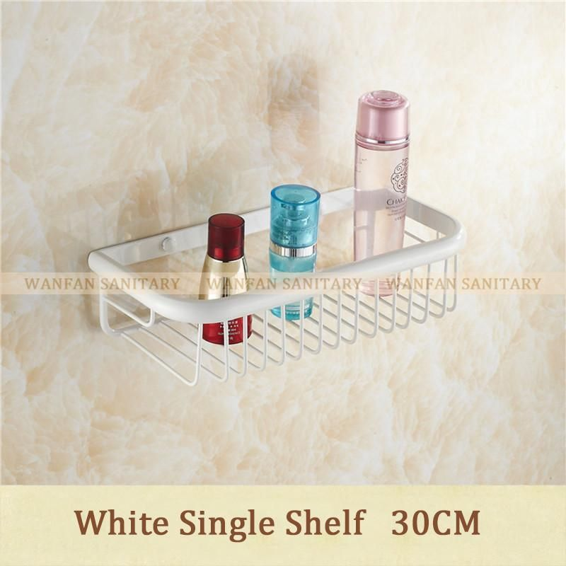 Buy Shampoo Holder 30Cm Wall Mounted Strong Brass Made Chrome Finish ...
