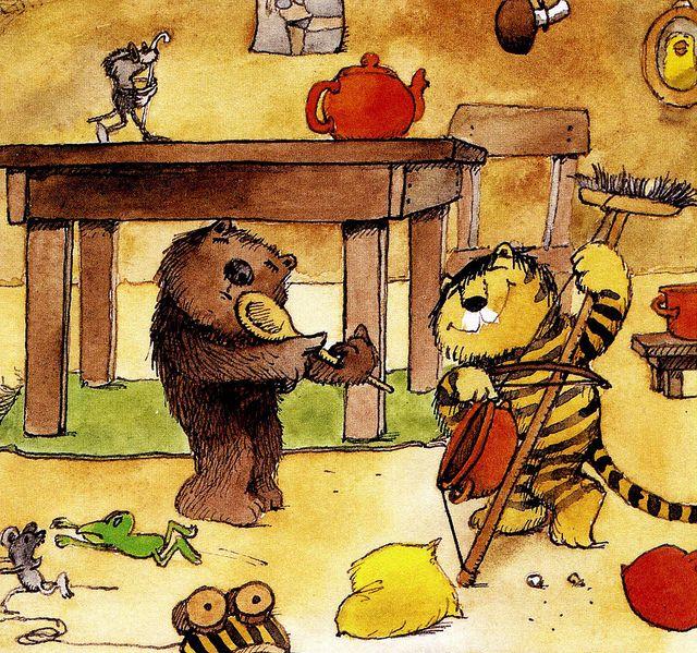 «carta per al tigre»  janosch illustrator illustration