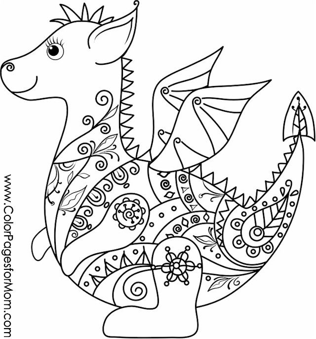 animal coloring pages 12 | Coloring - Young/Teen | Pinterest
