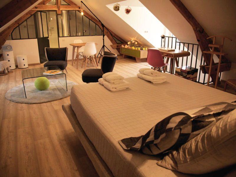 suite parentale sous les combles comblees. Black Bedroom Furniture Sets. Home Design Ideas