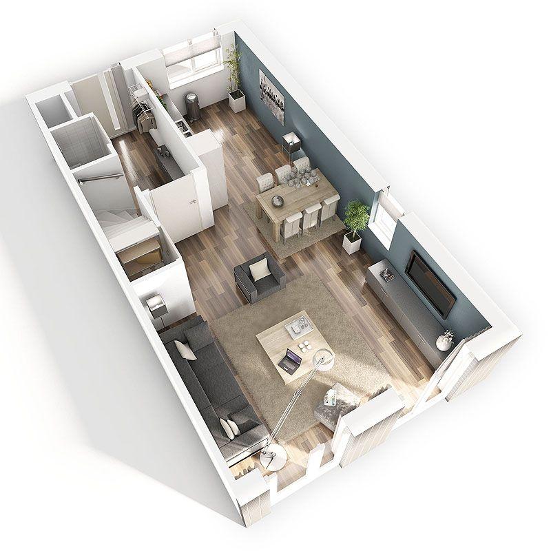 Plattegrond plattegrond huis pinterest woonkamer for Huis interieur ideeen