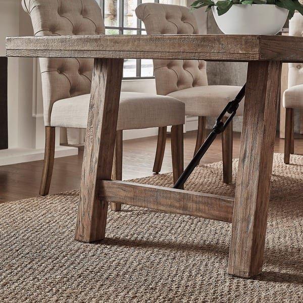 Dakota Oak Reinforced Concrete Trestle Dining Table By INSPIRE Q Artisan |  House | Pinterest | Trestle Dining Tables, Concrete And Bed Furniture