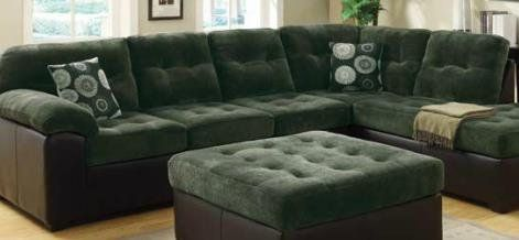 Pleasant Acme 50530 Layce Sectional Sofa With Pillows Dark Green Uwap Interior Chair Design Uwaporg