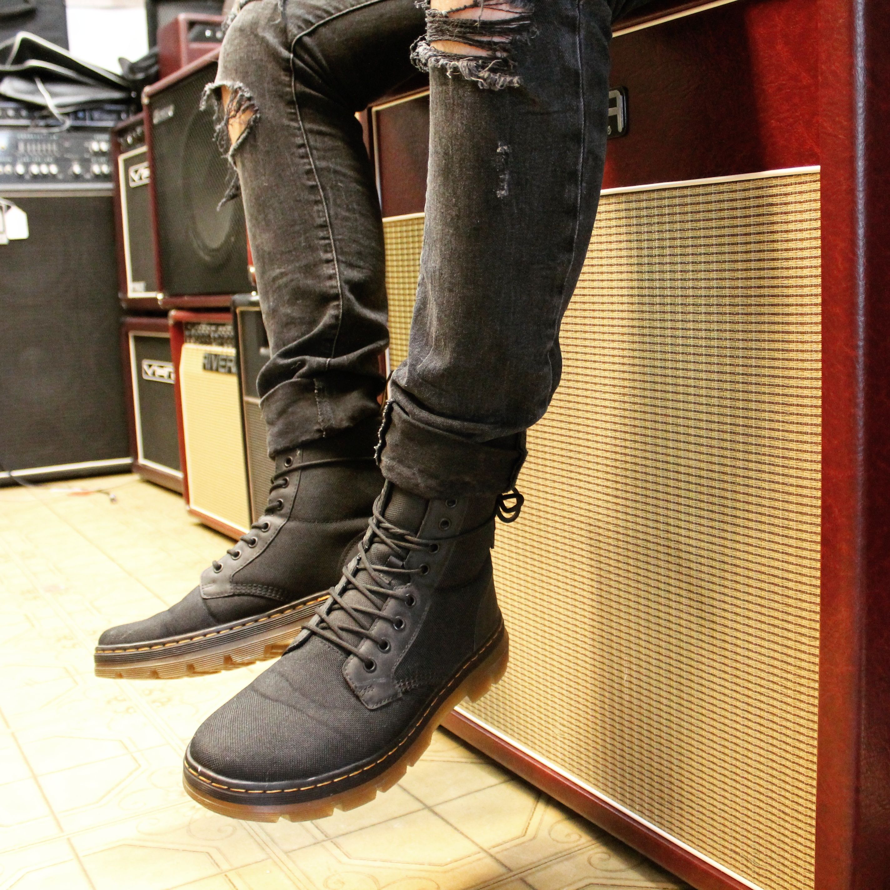 2b3aa396247 Dr. Martens Combs Boot in 2019 | Dr. Martens: outfit goals, ideas ...