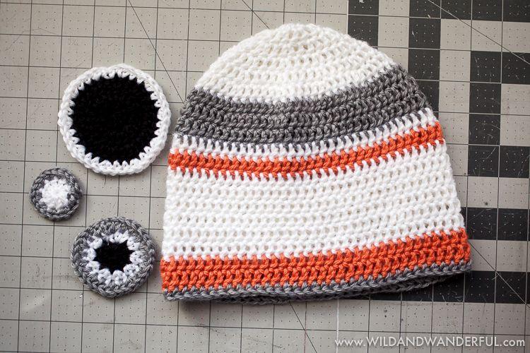 Bb 8 Inspired Hat Free Crochet Pattern Free Crochet Bb And Crochet