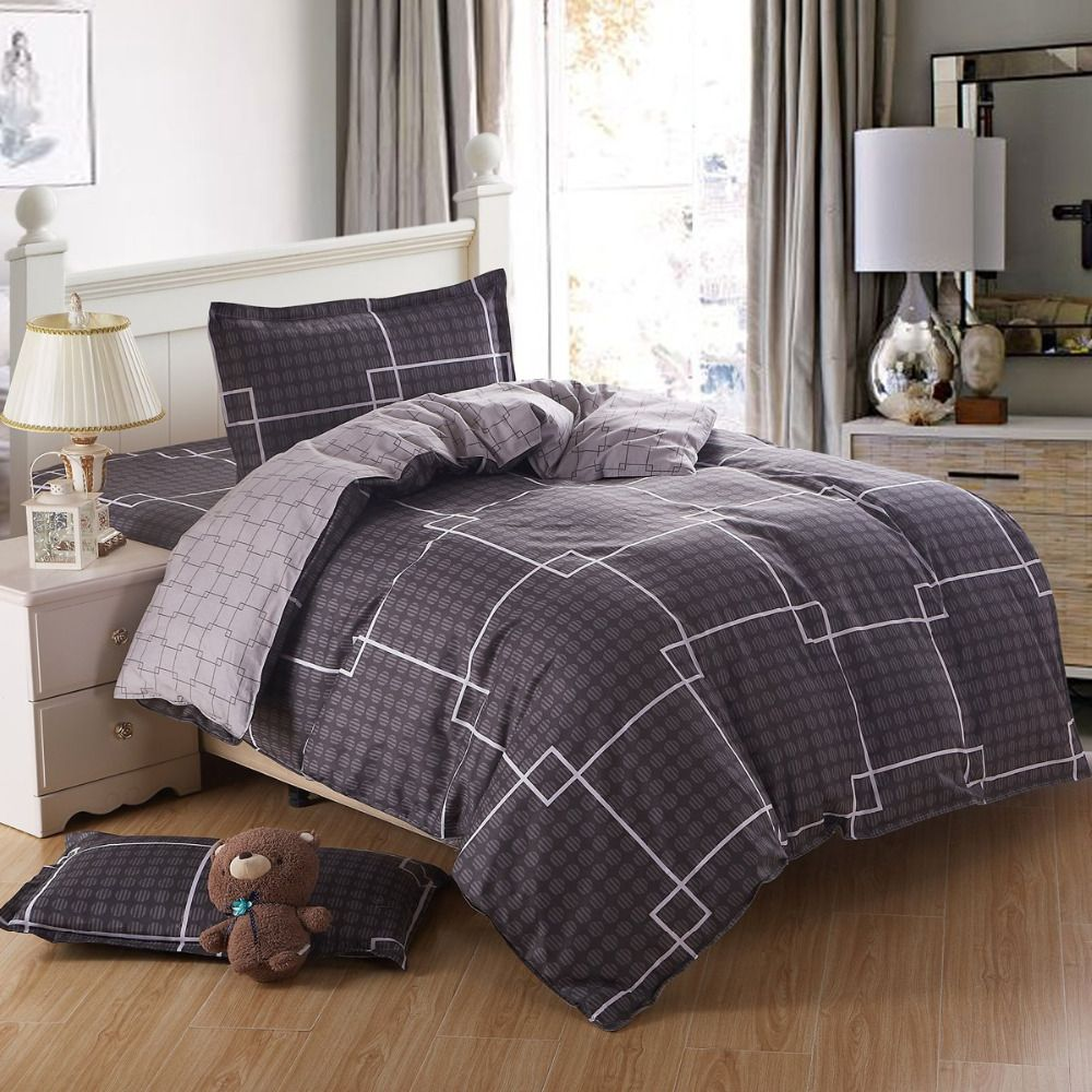 illustration of comforter sets for men | bedroom design