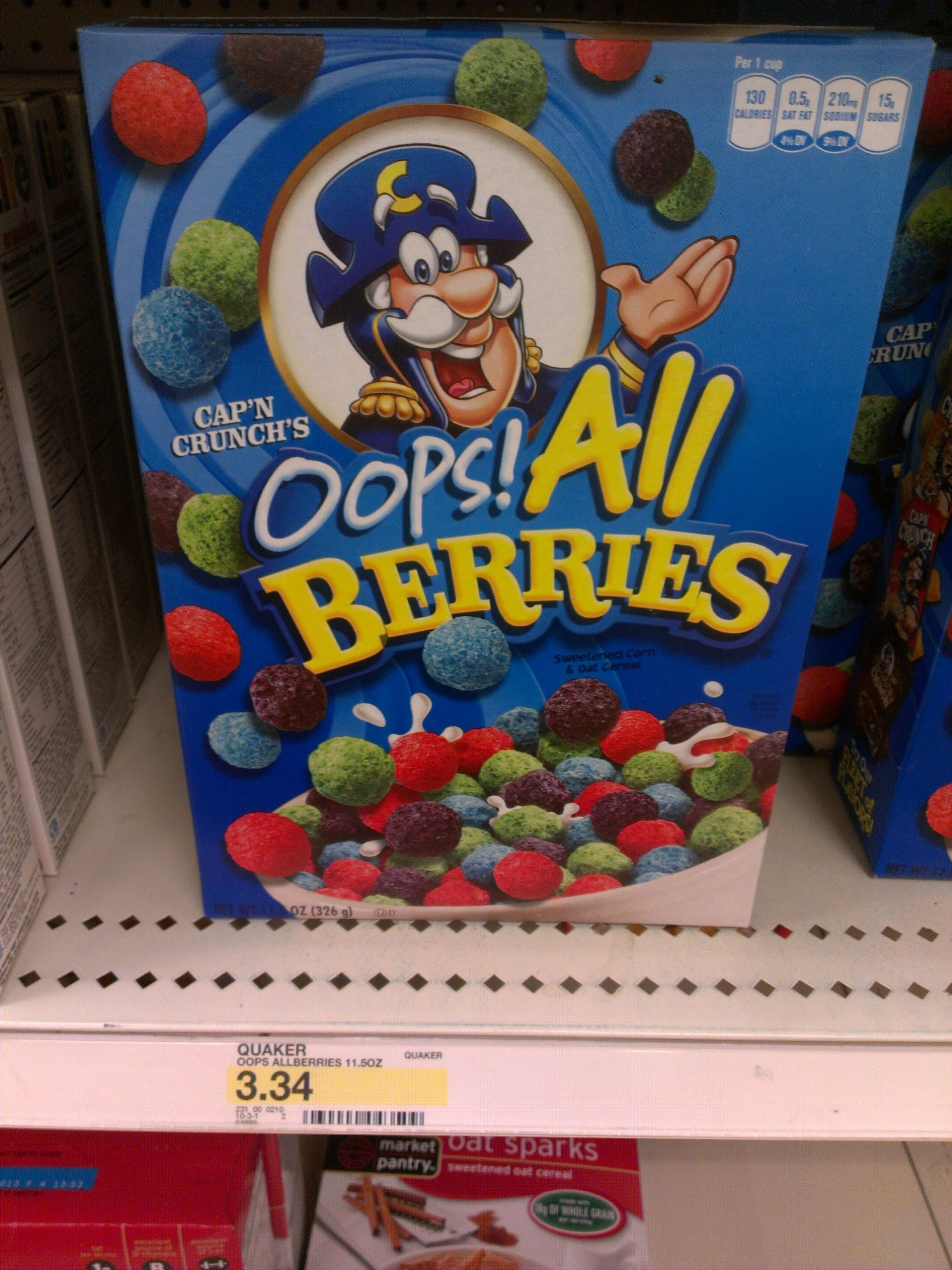 Oops All Berries Is The Best Cereal Of All Time Best Cereal All Berries Frosted Flakes Cereal Box Created by deleteda community for 1 year. pinterest