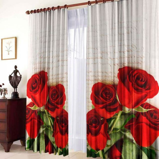 15 ideas de cortinas con flores que puedes hacer para decorar tu