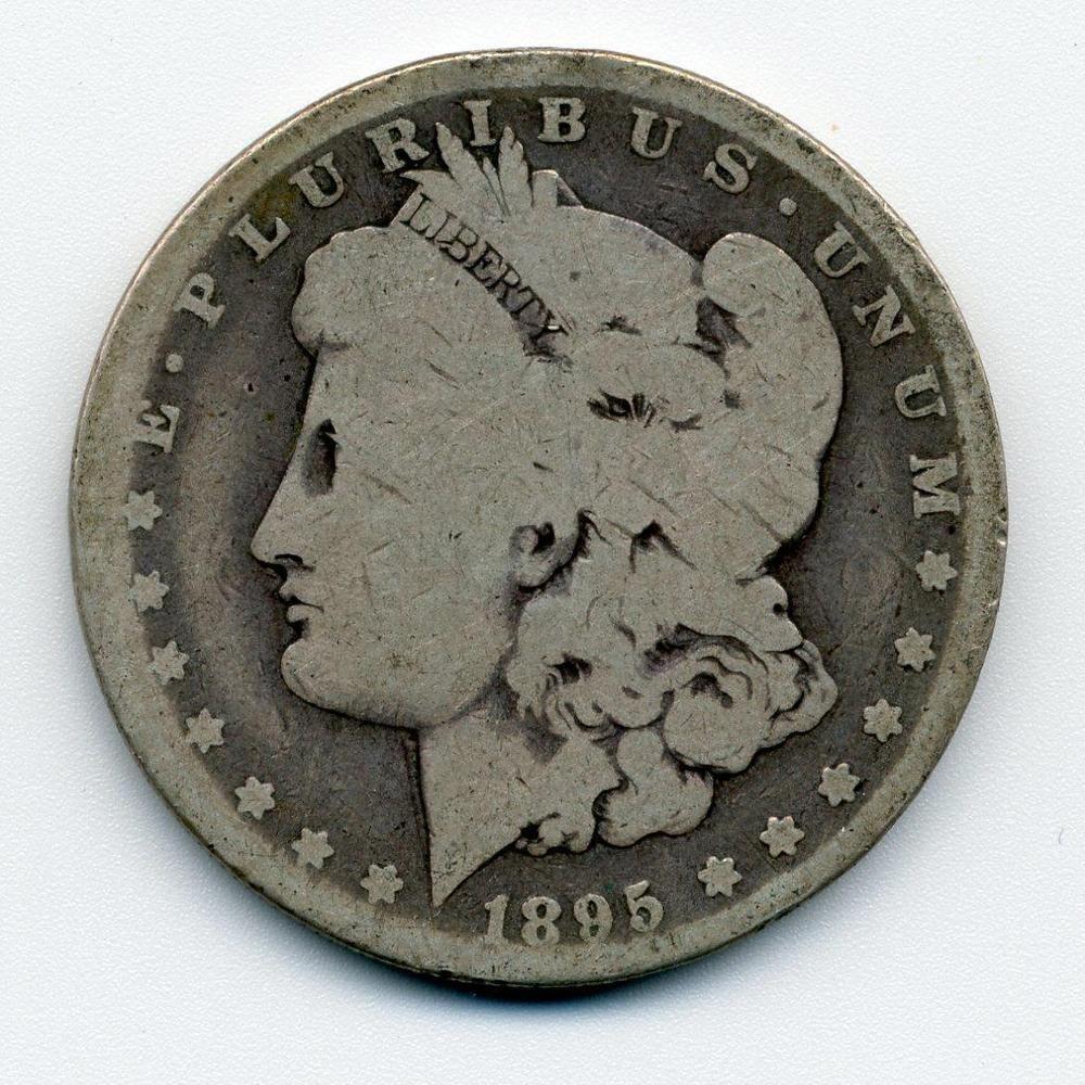 1895 O Rare Key Date Morgan 1 Silver Dollar Great Place Holder
