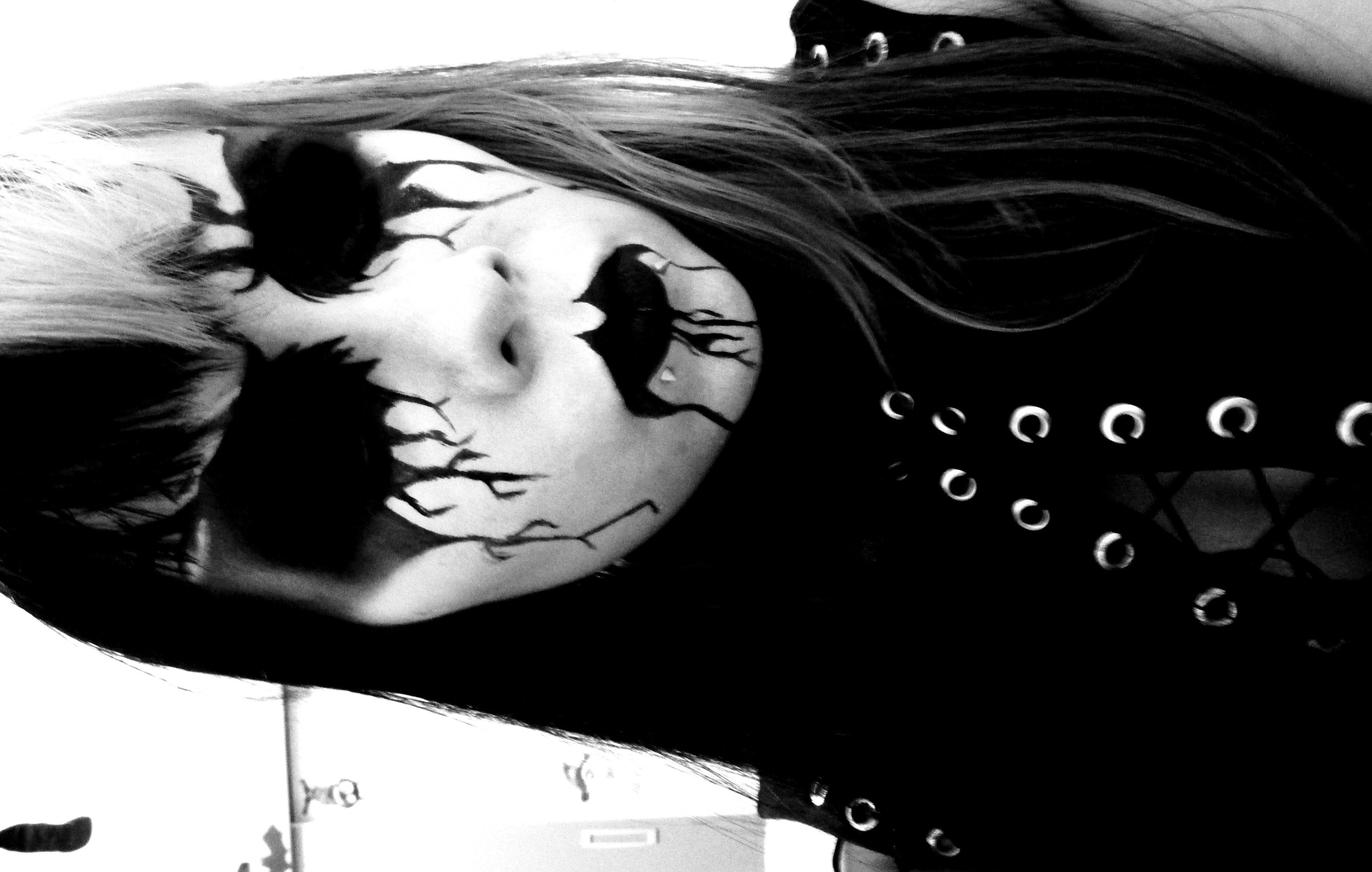 Corpse Paint Tutorial Youtube Dark Makeup Painting Corpse