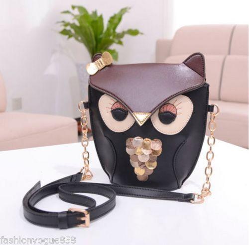 UK Lady Leather Handbag Messenger Satchel Girl Travel Shoulder Bag Tote