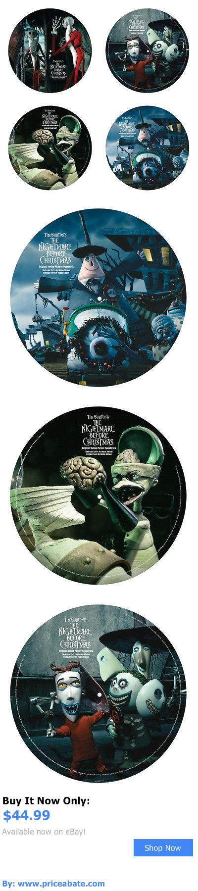Music Albums: Tim Burton The Nightmare Before Christmas Double Lp Vinyl Record Album Brand New BUY IT NOW ONLY: $44.99 #priceabateMusicAlbums OR #priceabate