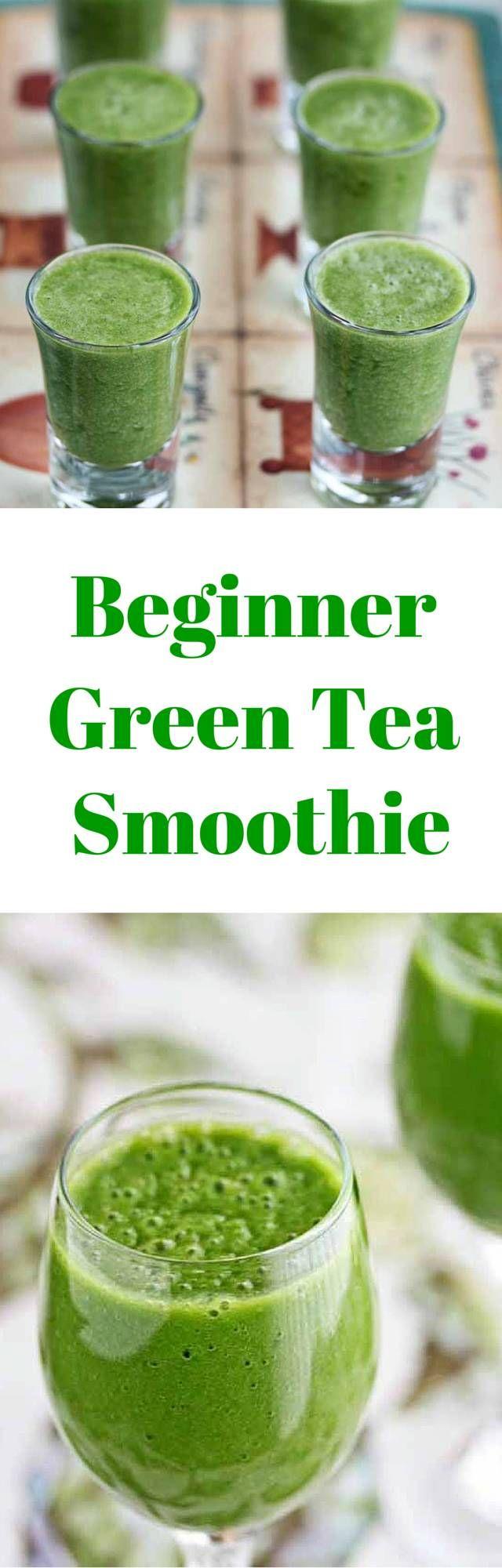 Beginner Green Tea Green Smoothie | Recipe | Green tea ...
