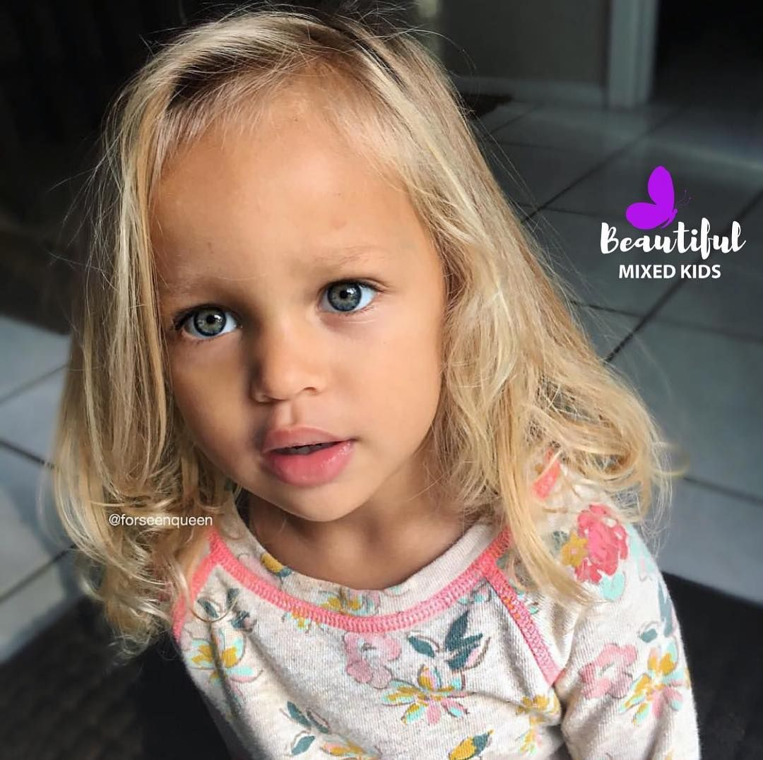 Beautiful Mixed Kids On Instagram Laylen Caucasian African