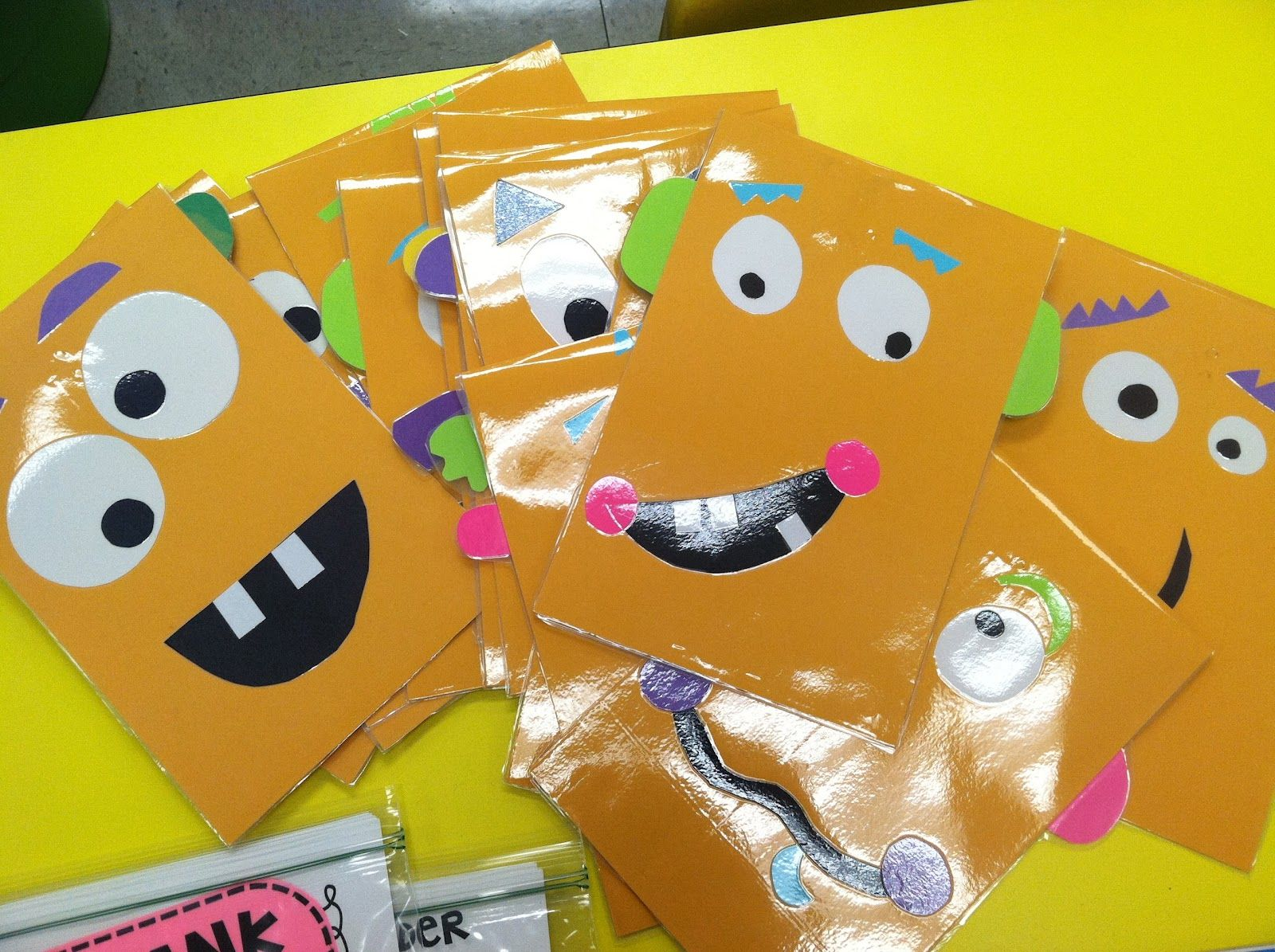 worksheet 1st Grade Math Flash Cards math monster folders to hold flash cards so cute from life in life