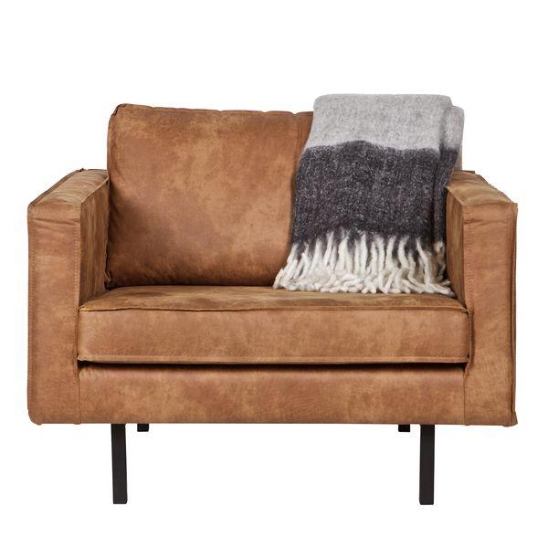 Loveseat sessel leder  Sessel Sofa RODEO Echtleder Leder Lounge Couch Armsessel cognac ...