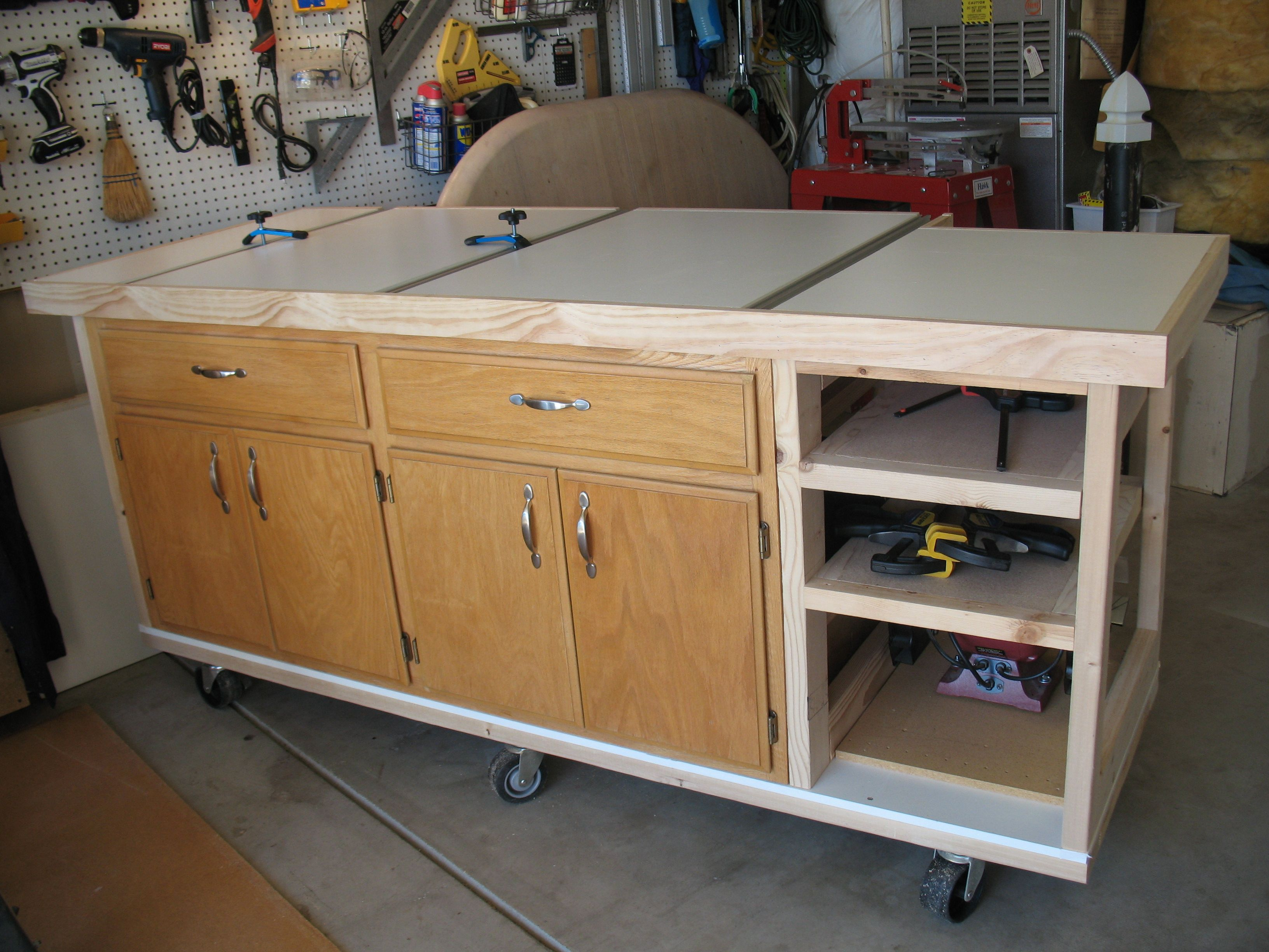 This Is My New Workbench I Built It With No Plans I Just