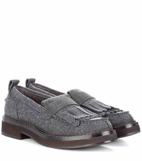 40c5e3b3564 Felt loafers
