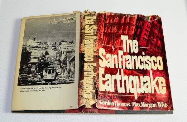 Shopgoodwill Vintage Illustrated San Francisco Earthquake Book