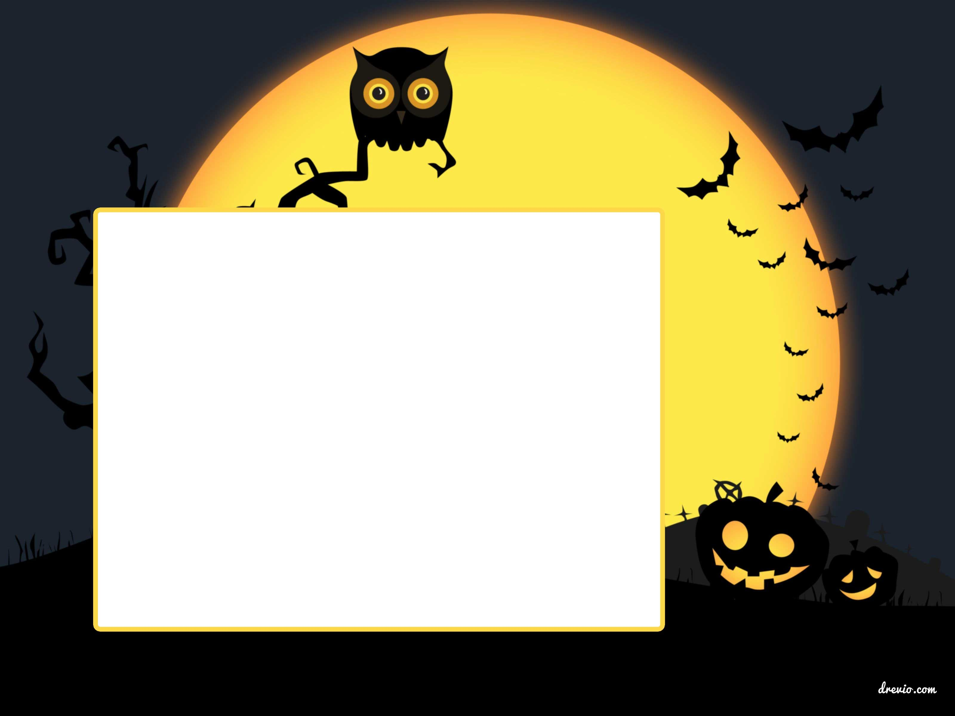 free printable halloween invitation template it s scary yet fun