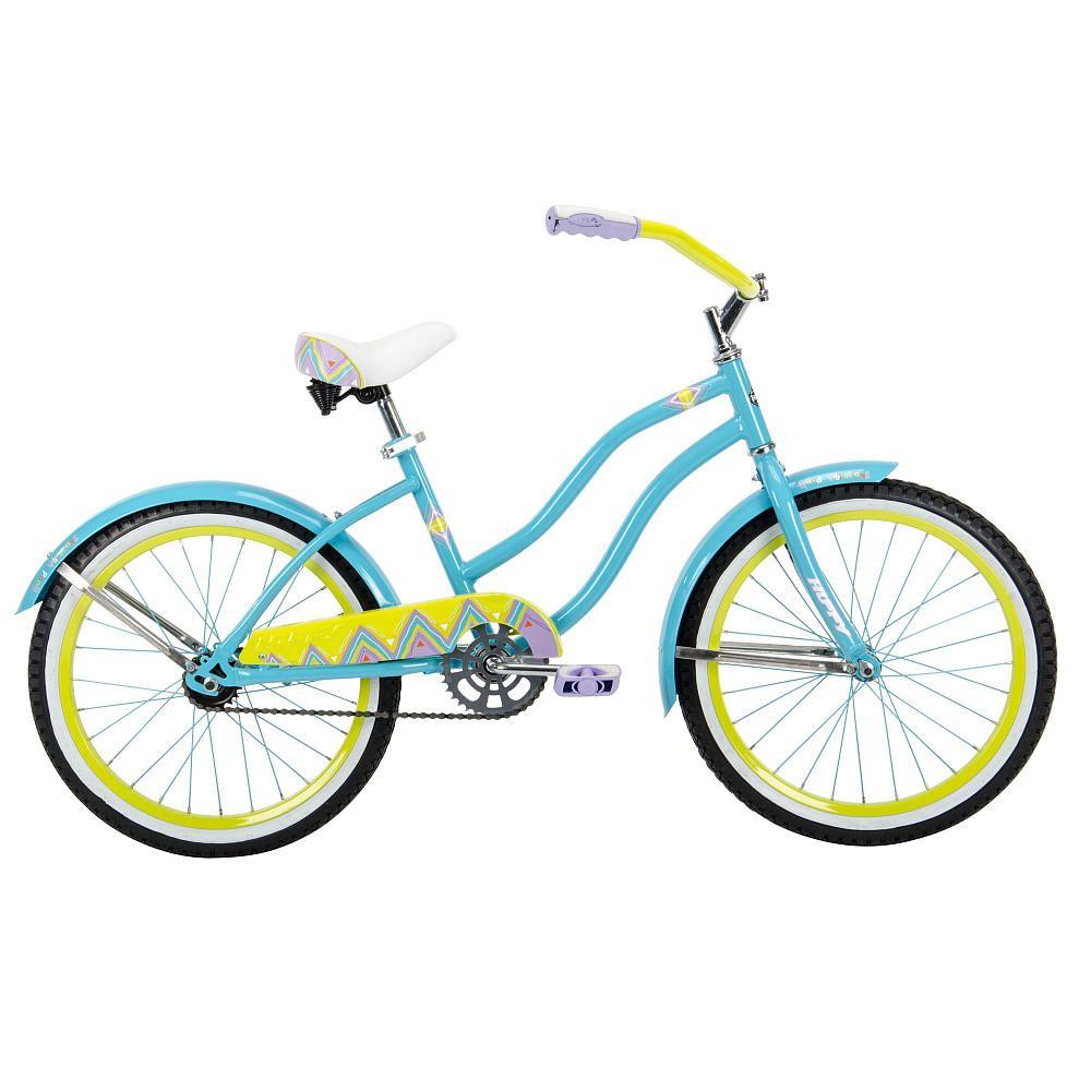 Girls 20 Inch Huffy Good Vibrations Cruiser Bike Cruiser Bike Bicycle Cruiser Bicycle