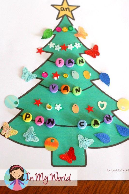 Rhyming Christmas Trees In My World Christmas Kindergarten Christmas Activities For Kids Christmas School