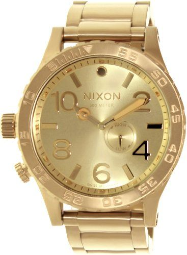 Nixon The 51-30 – Men's ( All Gold ) >> $335.00 << | Your #1 Source for Watches and Accessories