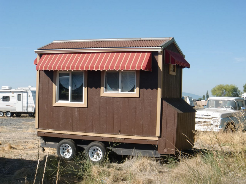 Tiny House On Wheels For Sale Craigslist Small Size And Attractive