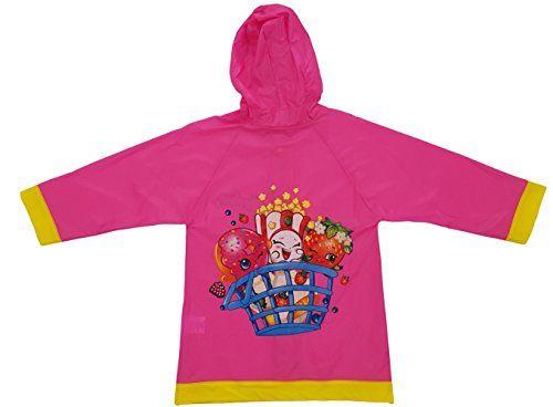 Playshoes Girls Waterproof Owl Rain Jacket