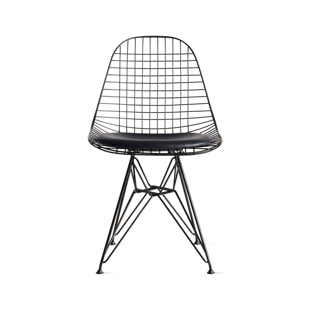 Eames Wire Chair With Seat Pad Design Within Reach Eames Wire Chairs Wire Chair Eames