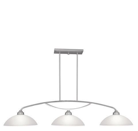 Livex Lighting 4224-91 Somerset Billiard/Island in Brushed Nickel