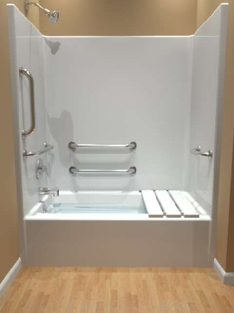 Handicap Tubs Handicap Tub Shower Accessible Bathroom Design