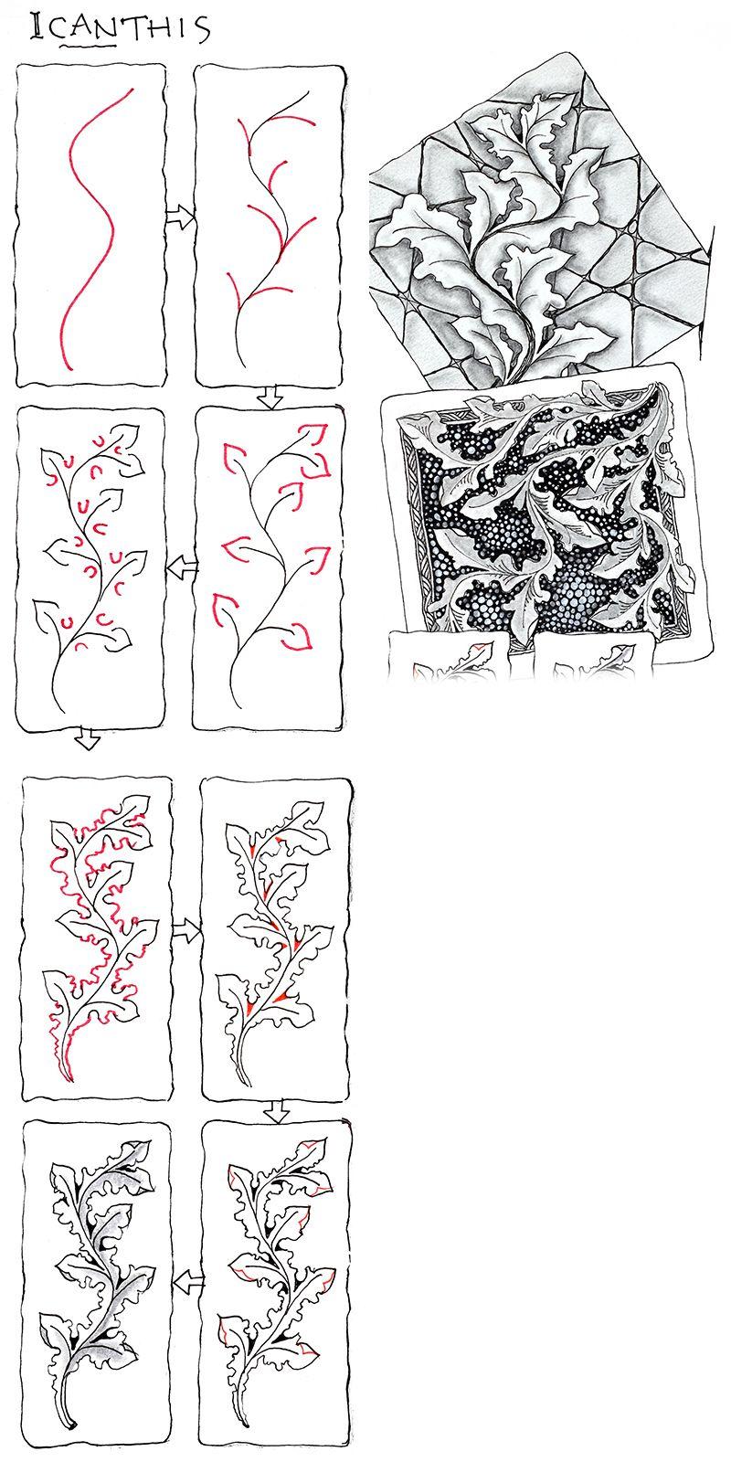 Official Zentangle Patterns Interesting Inspiration Ideas
