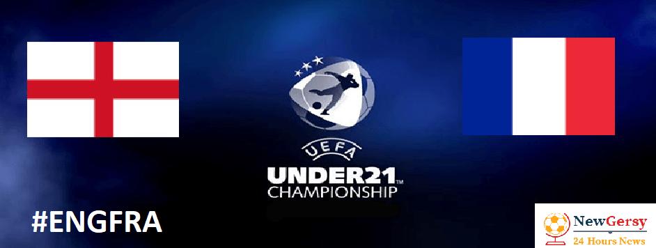 England U21 vs France U21 UEFA EURO U21 live free TV