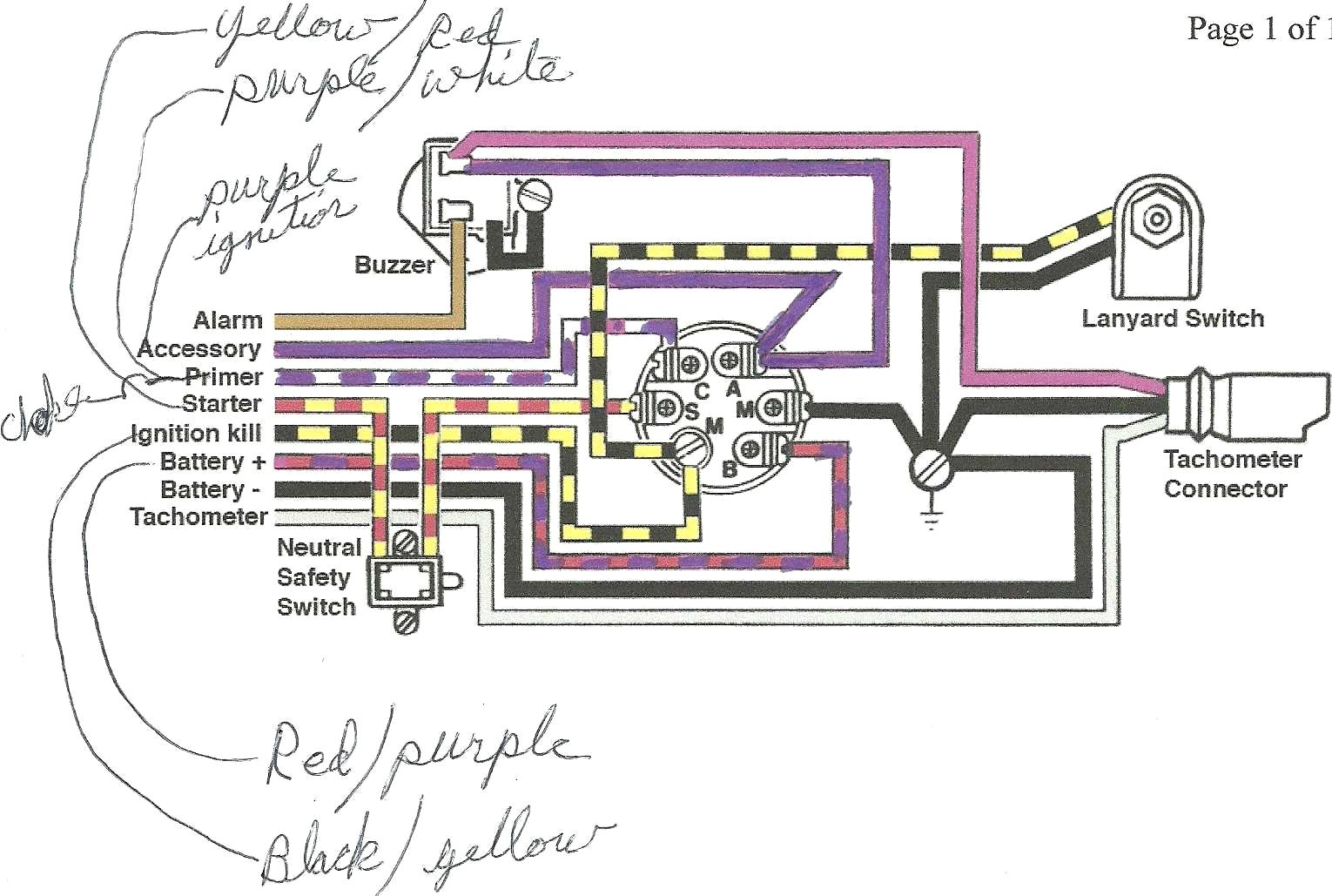 73 F100 Turn Signal Switch Wiring Diagram