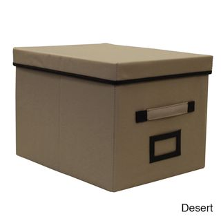 Decorative File Box | Overstock.com Shopping   Top Rated Storage Boxes