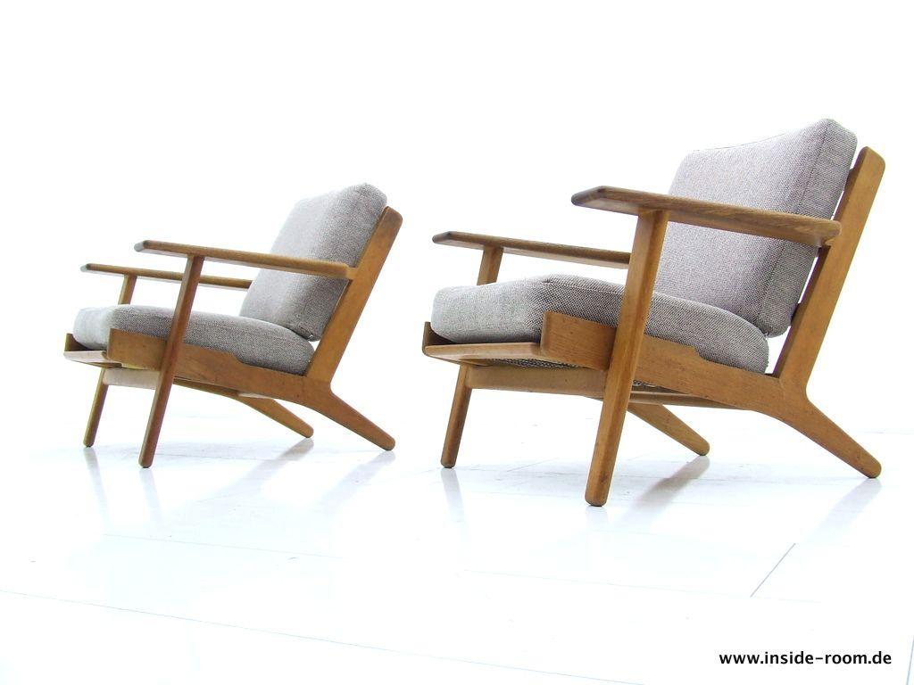 Hans J Wegner Easy Chairs Getama Live Pinterest # Muebles Corotos