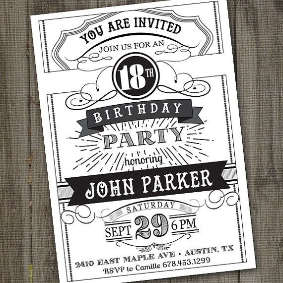 Pin On 18 Year Old Birthday Party Ideas Themes