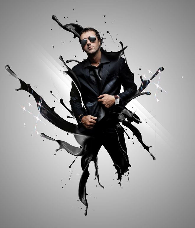 Photoshop Photo Line Art Effect : Creative photo manipulations and photoshop special
