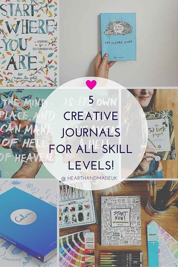 5 Creative Journals For All Skill Levels! Ever since the artist Keri Smith released her fabulous book 'Wreck This Journal', almost 10 years ago, the world of creative journalling has exploded. Many ar