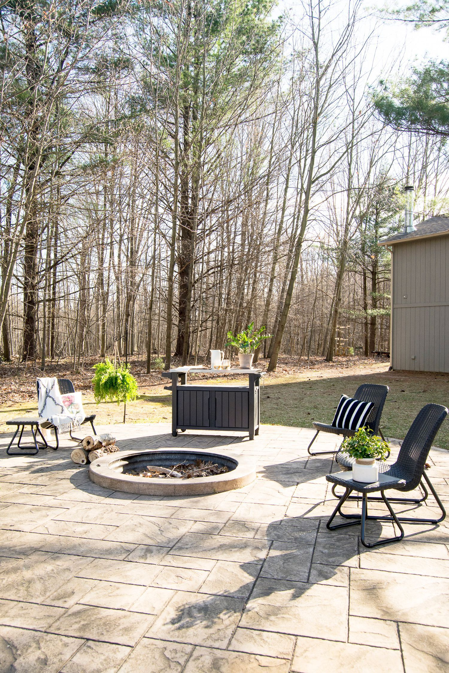 Photo of Inspiration for Backyard Fire Pit Designs
