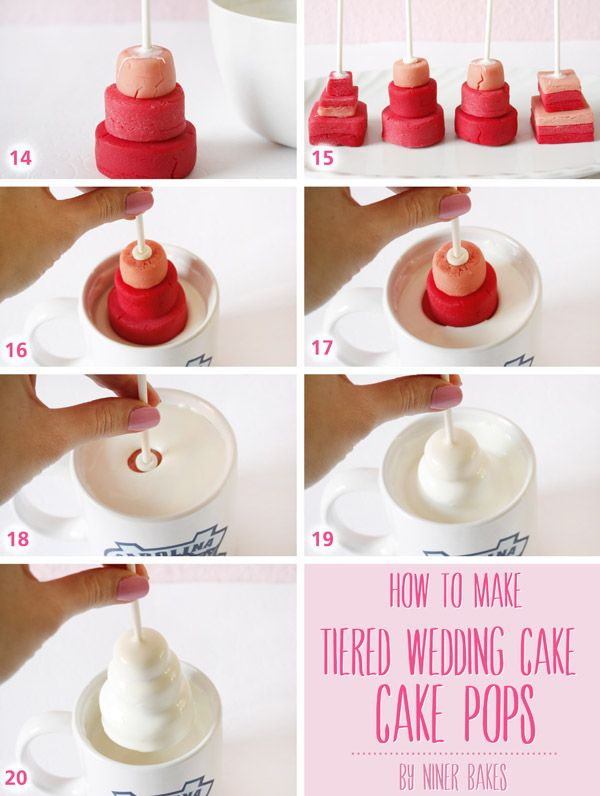 how to make wedding cake pops tutorial how to make wedding tiered cake pops by niner 16044