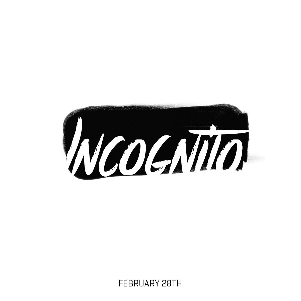 Incognito Instagram Com Thecoolwords Graphic Design Logo Typography Branding Typography Logo