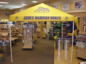 Protect your food and other tailgate goodies underneath a fashionable JMU tailgate tent! You can & Protect your food and other tailgate goodies underneath a ...