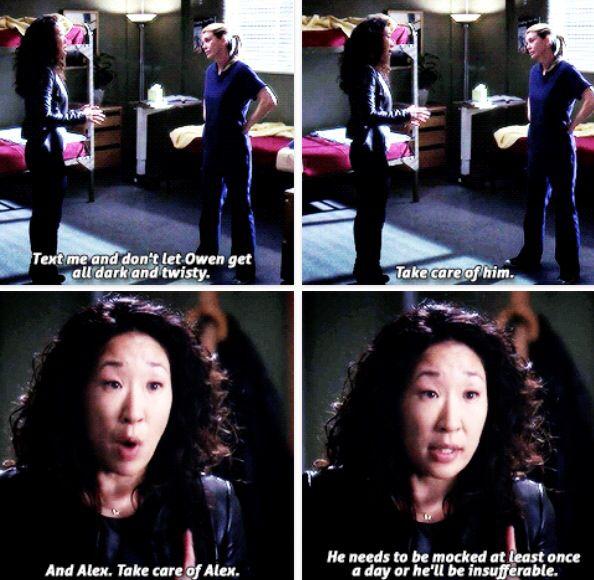 Grey's Anatomy - Good advice